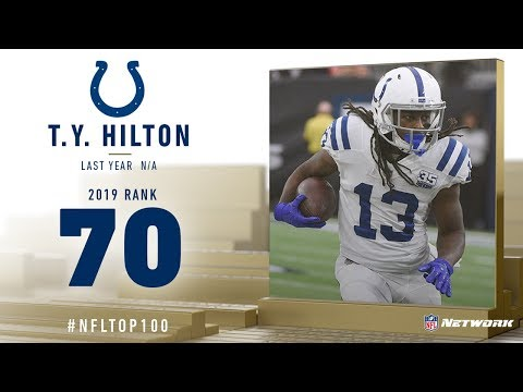 #70: T.Y. Hilton (WR, Colts)   Top 100 Players Of 2019   NFL