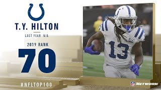 #70: T.Y. Hilton (WR, Colts) | Top 100 Players of 2019 | NFL