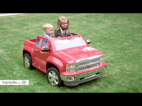 Rollplay 12 Volt Chevy Silverado Battery Powered Ride-On Vehicle - Product Review Video