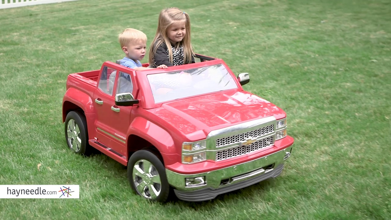 Rollplay 12 Volt Chevy Silverado Battery Ed Ride On Vehicle Product Review Video