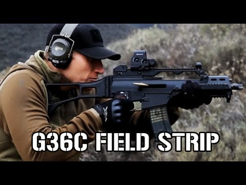 How To Field Strip a G36C - YouTube