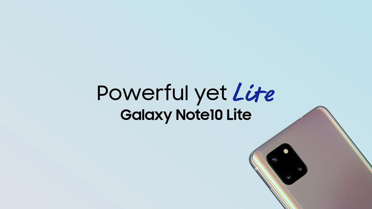 Samsung GalaxyNote10Lite | Techburner & Techno Ruhez review