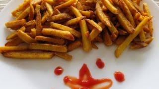 Arbi Masala / Taro Root, French Fries Style| Poonam's Kitchen