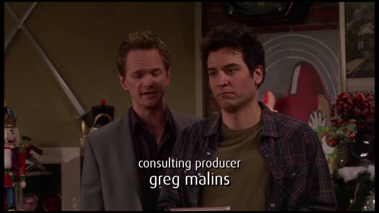 How I Met Your Mother Christmas.Barney S Christmas Carols How I Met Your Mother