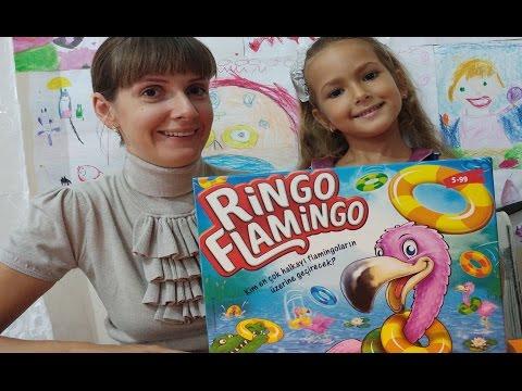Ringo flamingo oynadık.eğlenceli çocuk videosu
