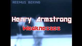 Henry Armstrong: Uppercut - Weaknesses (Boxing Technique)
