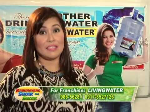 blue water refilling station franchise