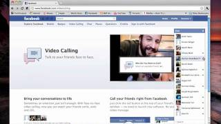 How To Setup Facebook Video Calling (Video Demo)