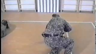 ч1-7 #Контратаки лежа от удара ногой сбоку в корпус #Боевое самбо  #рукопашный_бой