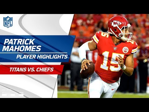 Patrick Mahomes' Best Plays vs. Tennessee | Titans vs. Chiefs | Preseason Wk 4 Player Highlights