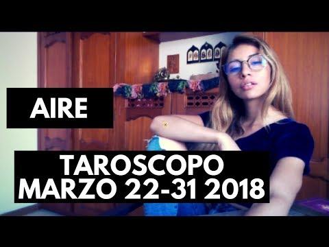 AIRE Marzo 22-31 2018 (Horóscopo-Tarot) GEMINIS LIBRA ACUARIO