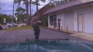 Florida Police Shooting (non-fatal) Caught on Dashcam