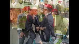 Hadiri Sertijab Danjen Kopassus, Prabowo Diarak Prajurit