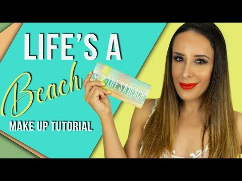 W7 LIFE'S A BEACH// MAKE UP TUTORIAL 🍍 REVIEW \ ΑΞΙΖΕΙ ΤΕΛΙΚΑ;;;;;;;| BEAUTISSIMI