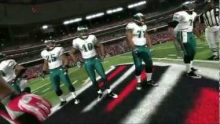 Madden NFL 12 GAMEPLAY - Eagles @ Falcons 1st Quarter [HD]