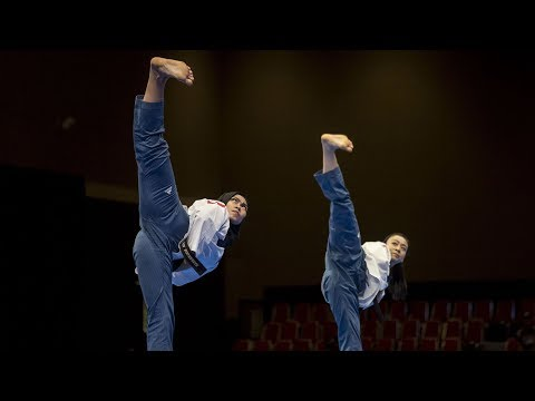 DPRK and ROK give joint Taekwondo performance