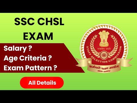 SSC CHSL EXAM | All Details | Government Job | Salary | Exam Pattern