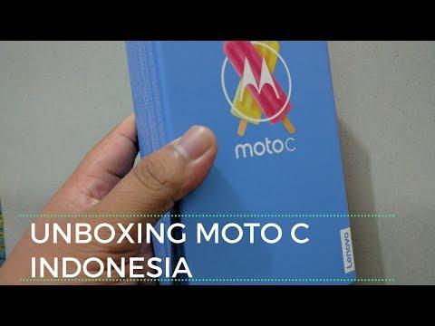 Unboxing Lenovo Moto C Indonesia