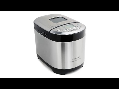KITCHENARM 29-IN-1 Automatic Bread Machine With Recipes - 2LB Bread Making Machine Stainless Steel
