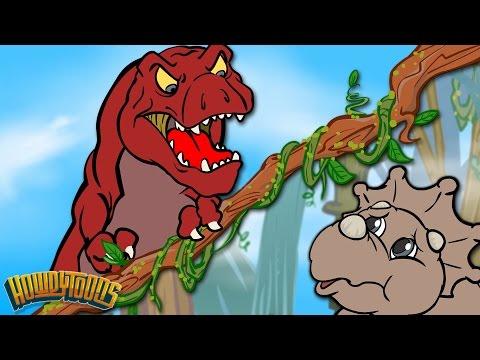 Dinosaur Story Season 1 | Dinostory | Dinosaur Songs for Kids from Howdytoons