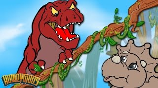 Dinosaur Story Season 1 | Dinostory | Dinosaur Songs for Kids from Howdytoons