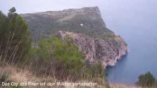 Wandern Mallorca - Talaia d'Alcudia von der Eremita de la Victoria bei Mal Pas