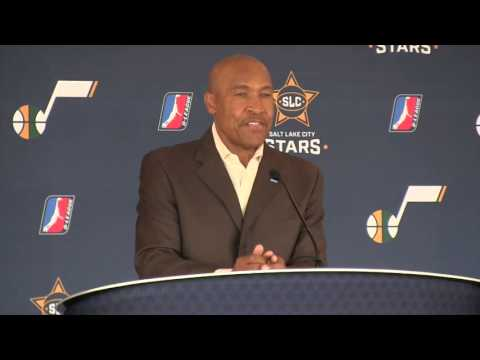 Salt Lake City Stars introductory press conference