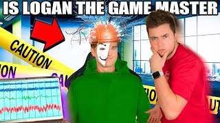 IS LOGAN THE GAME MASTER? Who IS The Game Master! (Lie Detector Test)