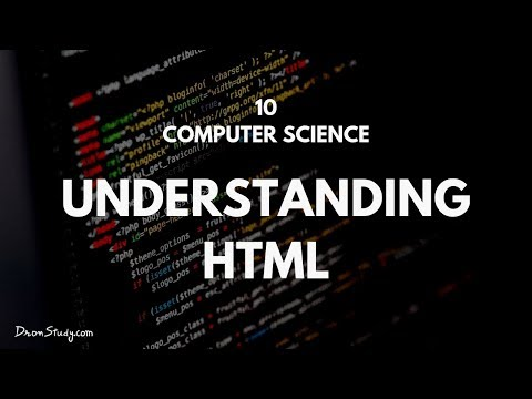 Learn HTML : What Are The Basics Of HTML? : Class 10 Computer Science