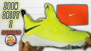 Prestigio Isla de Alcatraz Puede ser calculado  Unboxing Nike ZOOM SHIFT 2 - YouTube
