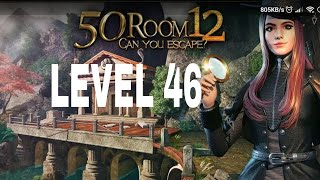 Can You Escape  The 100 Room 12 Level 46 Walkthrough