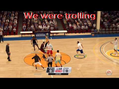 Shooting Virtual Hoops on NBA Live