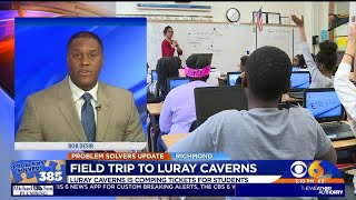 Richmond students headed to Luray Caverns thanks to officials and CBS 6 viewers