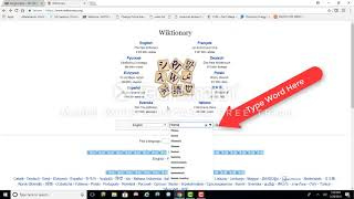 Wiktionary Video Guide