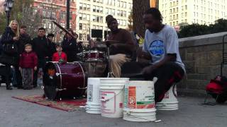 New York City Drums & Buckets | Artrunk