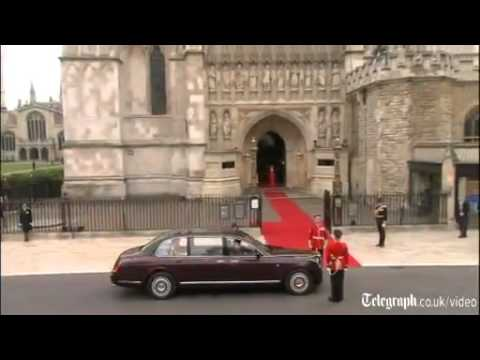 Prince William And Kate Middleton Royal Wedding Westminster Abbey Arrivals