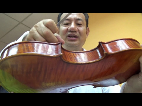 Violin Bridge Position 2, Malaysia Sound Workshop 2017
