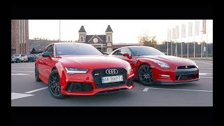 Audi RS7 770л.с. vs GT-R 700л.с. Ланос 500л.с.