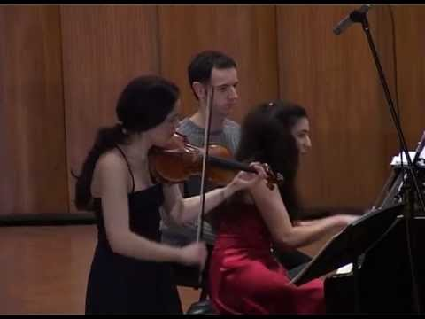 "Schubert: Sonata for Violin and Piano""Grand Duo"" 2st Movement"