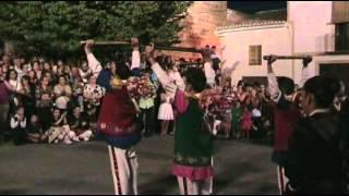 Fiesta de las Santas en Puebla de don Fadrique (bailes y procesión) 2012