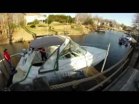 34' Cruisers Yachts Pumpout