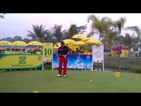 Thaworn Wiratchant at the Zaykabar Myanmar Open presented by Alpine.
