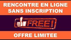 Rencontre en ligne gratuit sans inscription