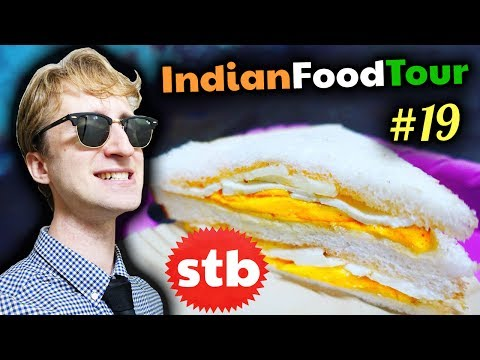 INDIAN STREET FOOD for Breakfast!! // Street Food Tour #19 in Delhi, India