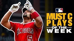 Pujols' 2,000th RBI, Fiers' no-hitter highlight the Must C Plays of the Week