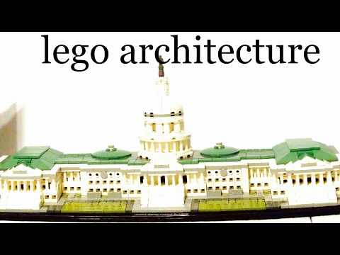 Lego Architecture United States Capital Building Review