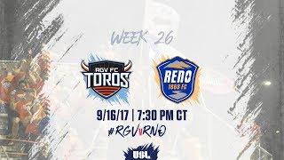 USL LIVE - Rio Grande Valley FC vs Reno 1868 FC 9/16/17 thumbnail