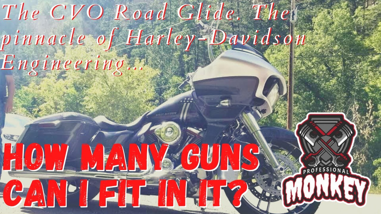 Concealed carry & motorcycles: Where's the best place to stash your piece?