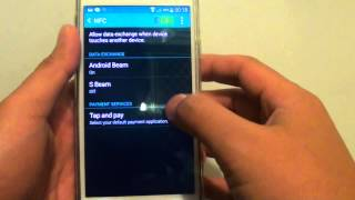 Samsung Galaxy S5: How to Enable/Disable Android Beam or S Beam