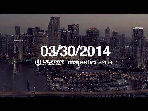Majestic Casual x Ultra Music Festival Miami 2014